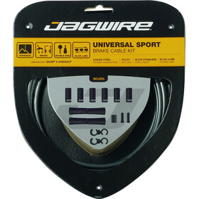 Jagwire Sport Universal Brake Cable Set for Shimano/SRAM ice-grey
